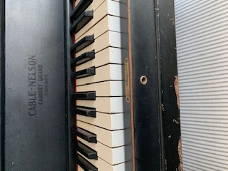CableNelson Upright Piano Antique Look Image 1