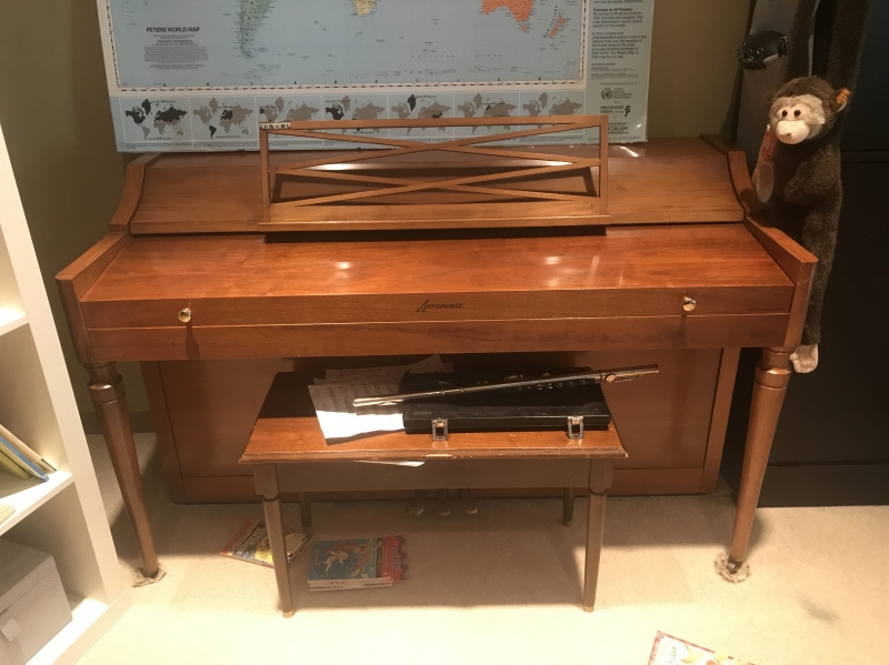Baldwin Upright Piano Image 1
