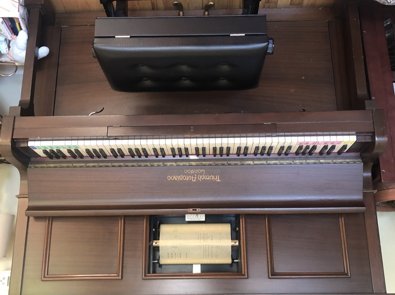 Triumph Autoplayet piano with rolls Image 2
