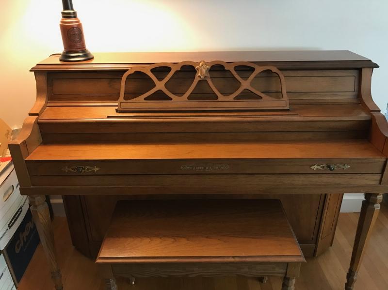 Chickering Upright Piano Image 2